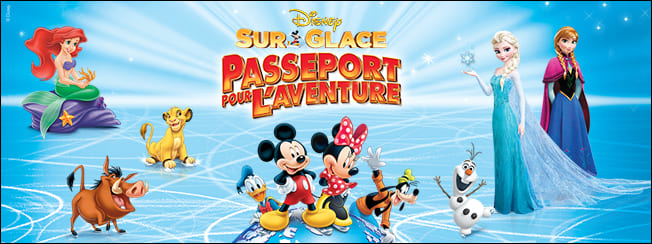 Disney sur glace Passeport pour l'aventure