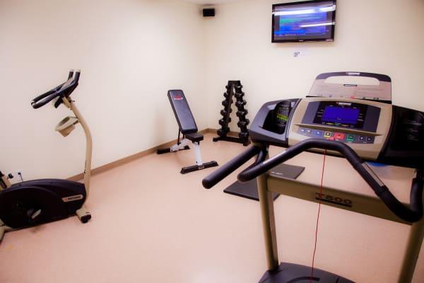 Salle d'exercice hotel quebec