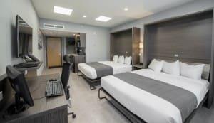 Chambre d'hôtel distinction