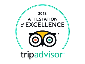 Attestation d'Excellence TripAdvisor